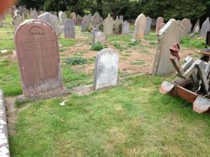 Capt. Edward Voss grave - 2